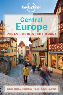 Lonely Planet Central Europe Phrasebook & Dictionary, Paperback Book