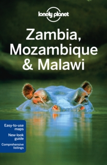 Lonely Planet Zambia, Mozambique & Malawi, Paperback