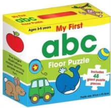 My First ABC Floor Puzzle, Hardback Book