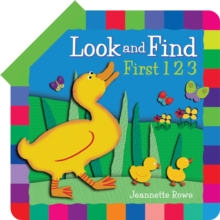 Look and Find First Numbers, Board book
