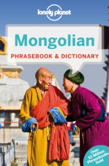Lonely Planet Mongolian Phrasebook & Dictionary, Paperback