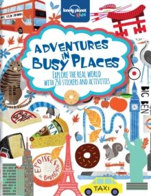 Adventures in Busy Places, Activities and Sticker Books, Paperback Book