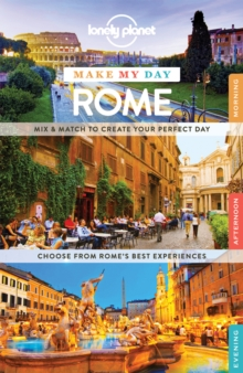 Lonely Planet Make My Day Rome, Spiral bound