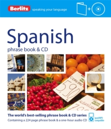 Berlitz: Spanish Phrase Book & CD, Paperback