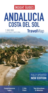 Insight Travel Map: Andalucia & Costa Del Sol, Sheet map