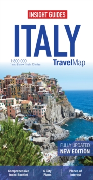 Insight Travel Map: Italy, Sheet map