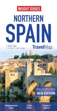 Insight Travel Map: Northern Spain, Sheet map