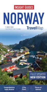 Insight Travel Map: Norway, Sheet map
