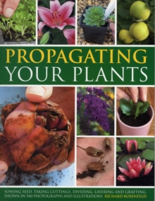 Propagating Your Plants : Sowing Seed, Taking Cuttings, Dividing, Layering and Grafting, Shown in 540 Photographs and Illustrations, Paperback
