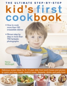 The Ultimate Step-by-Step Kid's First Cookbook, Paperback