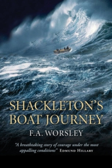 Shackleton's Boat Journey, Paperback