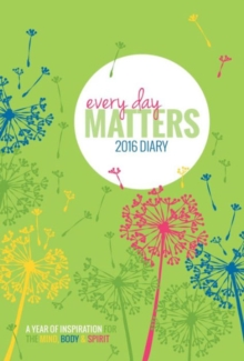 Every Day Matters 2016 Desk Diary, Calendar