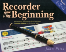Recorder from the Beginning : Books 1 + 2 + 3 Books 1 + 2 + 3, Paperback