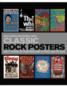 Classic Rock Posters, Paperback
