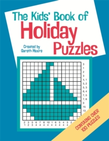 The Kids' Book of Holiday Puzzles, Paperback