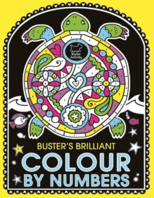 Buster's Brilliant Colour by Numbers, Paperback Book