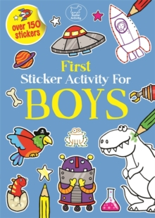 First Sticker Activity for Boys, Paperback Book