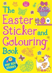 The Easter Sticker and Colouring Book, Paperback Book