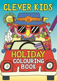 Clever Kids' Holiday Colouring Book, Paperback Book