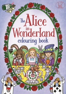 The Alice in Wonderland Colouring Book, Paperback Book