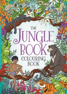 The Jungle Book Colouring Book, Paperback