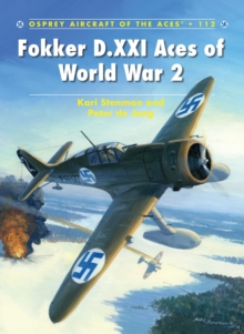 Fokker D.XXI Aces of World War 2, Paperback Book