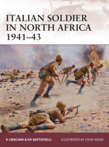 Italian Soldier in North Africa, 1941-43, Paperback Book