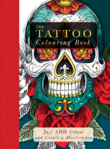 Tattoo Colouring Book, Paperback