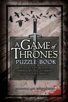 A Game of Thrones Puzzle Book, Hardback