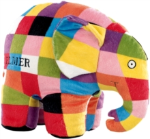 Elmer Soft Toy Large