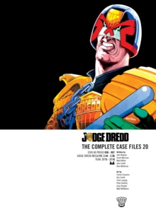 Judge Dredd : The Complete Case Files v. 20, Paperback Book