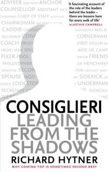 Consiglieri : Leading from the Shadows, Paperback