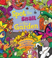 Spot the Snail in the Garden, Hardback