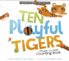 Ten Playful Tigers : A Back-and-Forth Counting Book, Board book