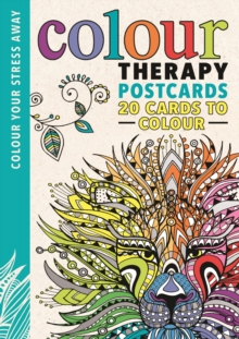 Colour Therapy Postcards, Postcard book or pack