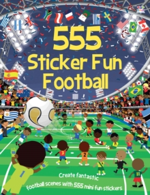 555 Sticker Fun Football, Paperback