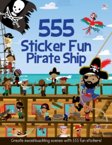 555 Sticker Fun Pirate Ship, Paperback