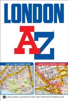 London Street Atlas, Paperback Book