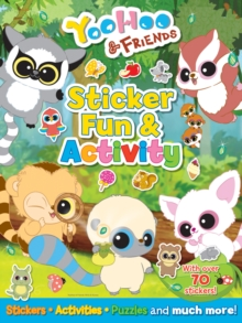 YooHoo and Friends Sticker Fun and Activity, Stickers