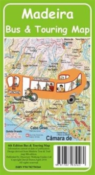 Madeira Bus & Touring Map, Sheet map, folded