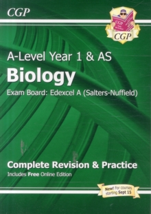 New A-Level Biology: Edexcel A Year 1 & AS Complete Revision & Practice with Online Edition : Exam Board: Edexcel A (Salters-Nuffield), Paperback