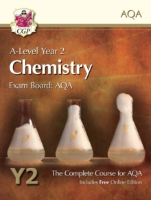 New A-Level Chemistry for AQA: Year 2 Student Book with Online Edition : The Complete Course for AQA, Paperback