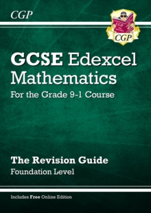 New GCSE Maths Edexcel Revision Guide: Foundation - for the Grade 9-1 Course (with Online Edition), Paperback