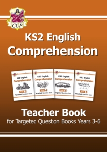 KS2 English Targeted Comprehension : Teacher Book Years 3-6, Paperback