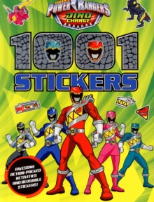 Power Rangers 1001 Stickers, Paperback Book