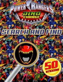 Power Rangers Search and Find, Paperback