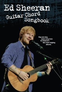 Ed Sheeran : Guitar Chord Songbook, Paperback Book