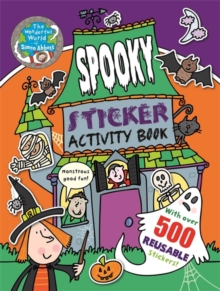 The Wonderful World of Simon Abbott: Spooky Sticker Activity Book, Paperback