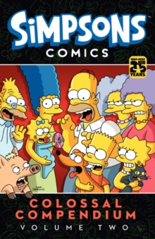 Simpsons Comics - Colossal Compendium : Volume 2, Paperback Book