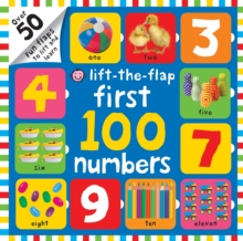 Lift-the-Flap First 100 Numbers, Board book